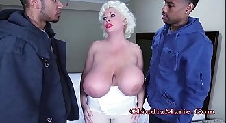 Huge Tits Prostitute Claudia Marie Double Penetrated