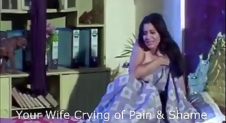 Indian Wifey Coerced By Boss and His Friend