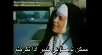 Wonderful sexy nun translated to Arabic