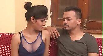 Hot Indian mummy cleavage show boob press kissing Indian HD Bhabhi