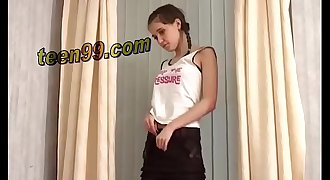 Nice sister Hiding Her Brothers bedroom to have a great sex - www.teen99.com