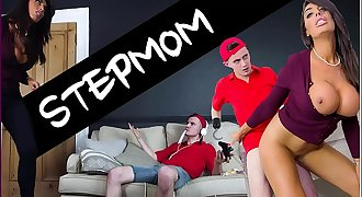 BANGBROS - Sam Bourne's Step Mom Ava Koxxx Takes Manage Of The Situation