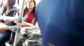 Mironas en bus Bogotá (Voy a mejorar los videos)