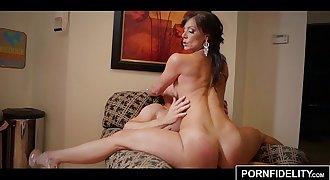 PORNFIDELITY - Kendra Eagerness Takes Mega-slut Cumshots