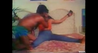 Mallu tied and forced in a movie