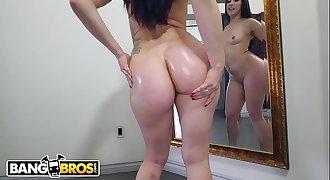 BANGBROS - Slamming Mandy Muse's Perfect Butt Hole On Ass Parade!