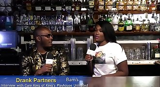 King Cure Of King's Playhouse Unlimited Gets Interviewed By Bam Of Drank Partners