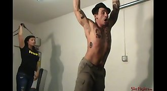 More Screams And Tears - Painful Whipping Session with Mikaela