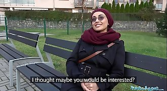 Public Agent Afghan beauty pays to fuck a big dick