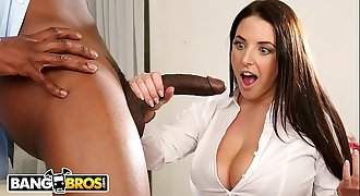 BANGBROS - Chesty Angela White Takes Anal invasion From Isiah Maxwell