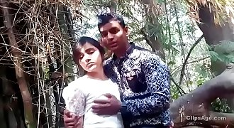 Outdoor masti in jungle forest