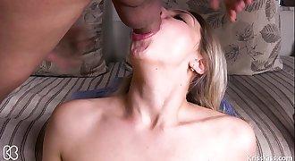 Hardcore Teen Facefuck and Deepthroat Swallow, 4K (Ultra HD) - Kriss Kiss