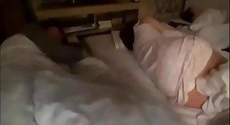 Fucking japanese sleeping mom