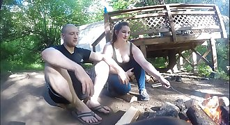Lost Hiker Girl Gets Fucked And Takes Anal Creampie
