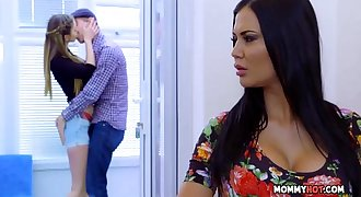 Bringing Stepsiblings Closer Together - Jasmine Jae And Stella Cox