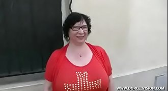 French Bbw Granny Olga with younger dude - Creamza.com