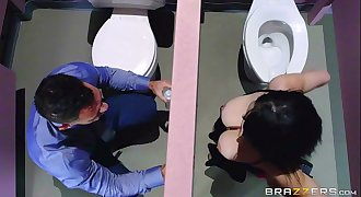 Noelle Easton love bathroom gloryholes