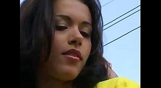 Bruna Carvalho dando o cu durante o jogo