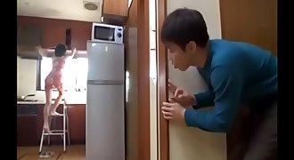 Japanese Mummy entice her son's classmates at home - Pt2 On FilfCam.com