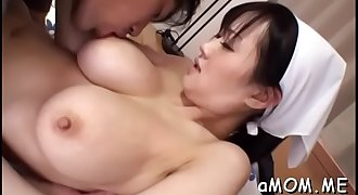 Needy mother i'd like to fuck widens legs for asian shaft in supreme home video