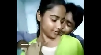 Indian Girl Rajini Allowed Knockers Press Video