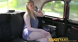 Fake Taxi Long haired MILF fucked on back seat